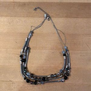 Charming Charlie Tri-Layer necklace
